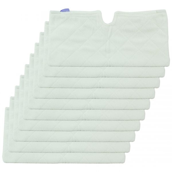 10 Pack Felji Euro-Pro XLT3501 XL Microfiber Pad Replacement for Shark Steam Pocket Mops