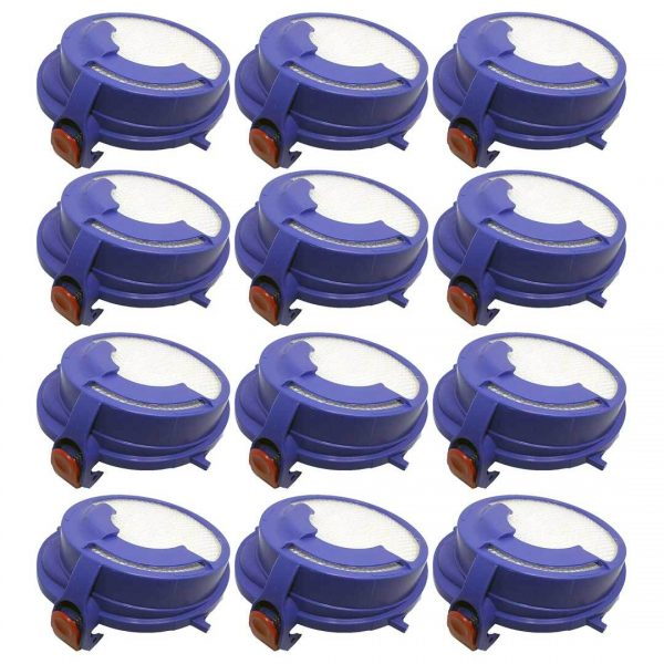 12 Pack Dyson DC24 Washable Post Motor HEPA Filter Part # 915928-01 91592801