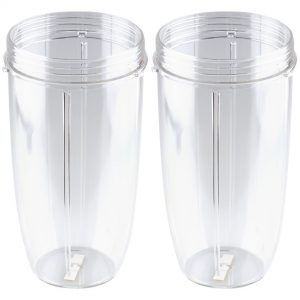2 Pack 32 oz Colossal Cups Replacement for Nutribullet NB-101s