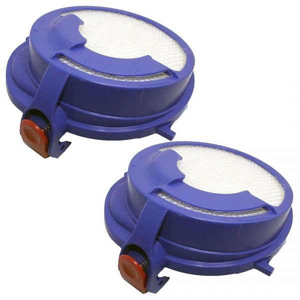 2 Pack Dyson DC24 Washable Post Motor HEPA Filter Part # 915928-01 91592801