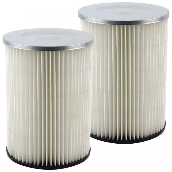 2 Pack Felji Shop-Vac 90328 Ridgid Replacement Cartridge Filter for Craftsman and Ridgid Brand Vacuums