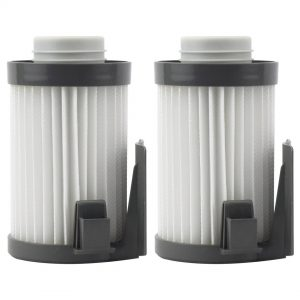 Felji Washable HEPA Dust Cup Vacuum Filters for Eureka DCF-10, DCF-14, Part # 62731, 62396 2 Pack
