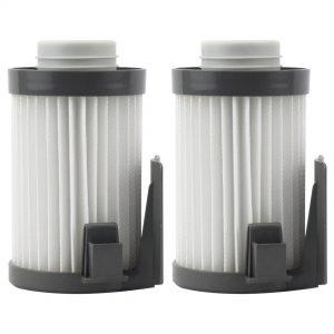 Felji Washable HEPA Dust Cup Vacuum Filters for Eureka DCF-10, DCF-14, Part # 62731, 62396 2 Pack
