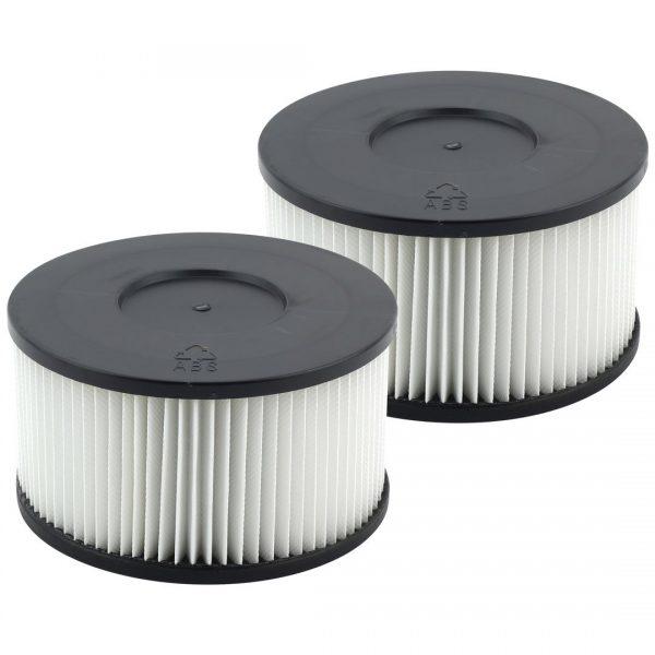 2 Pack Wet Dry Vac HEPA Media Filter Replacement For Felji Ash Vacuum Cleaner