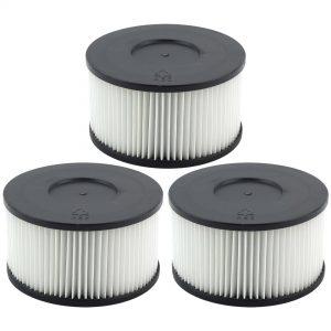 3 Pack Wet Dry Vac HEPA Media Filter Replacement For Felji Ash Vacuum Cleaner