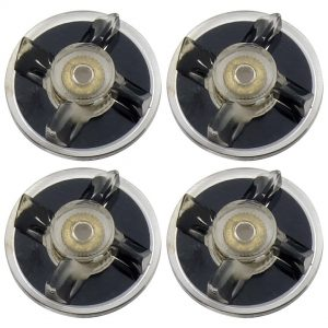 4 Pack Base Gear Replacement Part for Magic Bullet MB1001 250W Blenders