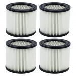 4 Pack Shop-Vac 90398 Small Cartridge Filter Type AA for Wet & Dry Vacuums 903-98 90399 903-99