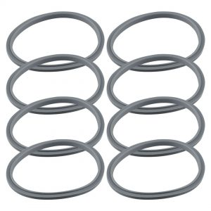 8 Gray Gasket Replacements for NutriBullet 600W 900W Extractor or Flat Milling Blades NB-101