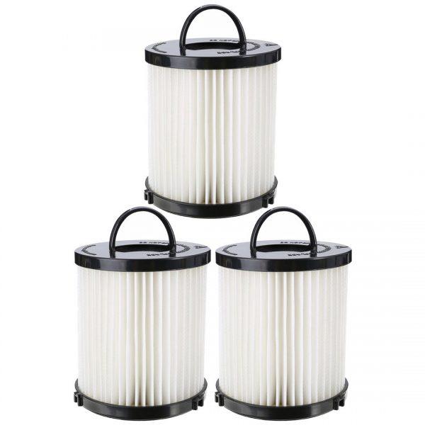 Felji 3 Pack Washable Dust Cup Vacuum Filter for Eureka DCF21 DCF-21 67821 68931 68931A