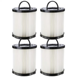Felji 4 Pack Washable Dust Cup Vacuum Filter for Eureka DCF21 DCF-21 67821 68931 68931A