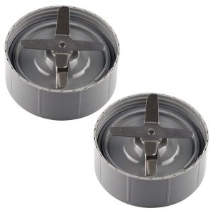 2 Pack Extractor Blades Replacement Compatible with NutriBullet 600W 900W Blenders NB-101B NB-101S NB-201