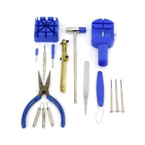 Felji 16 Piece Professional Watch Jewelry Repair Tool Kit