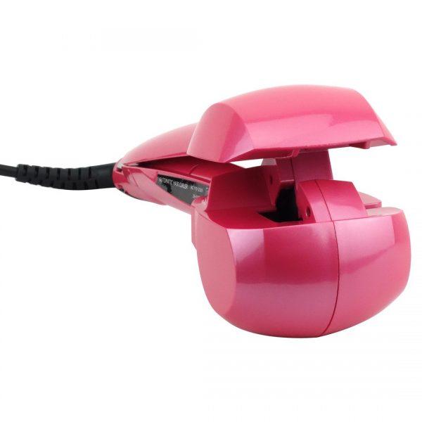 Felji Nano Titanium Miracurl Professional Curl Machine Automatic Hair Curler, Pink