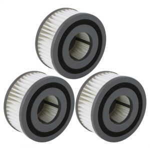 Felji F15 Washable HEPA Filters for Dirt Devil Vacuum Cleaners Part # 1-SS0150-000 3-SS0150-001 3 Pack