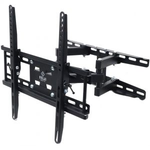 Felji Full Motion TV Wall Mount VESA Bracket 42 46 50 55 60 Sony Samsung LG Vizio Sharp