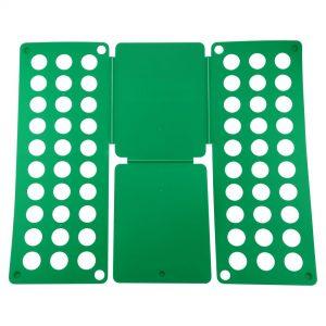 Felji Green Flip & Fold Adult Clothes Folder Shirt Folding Board