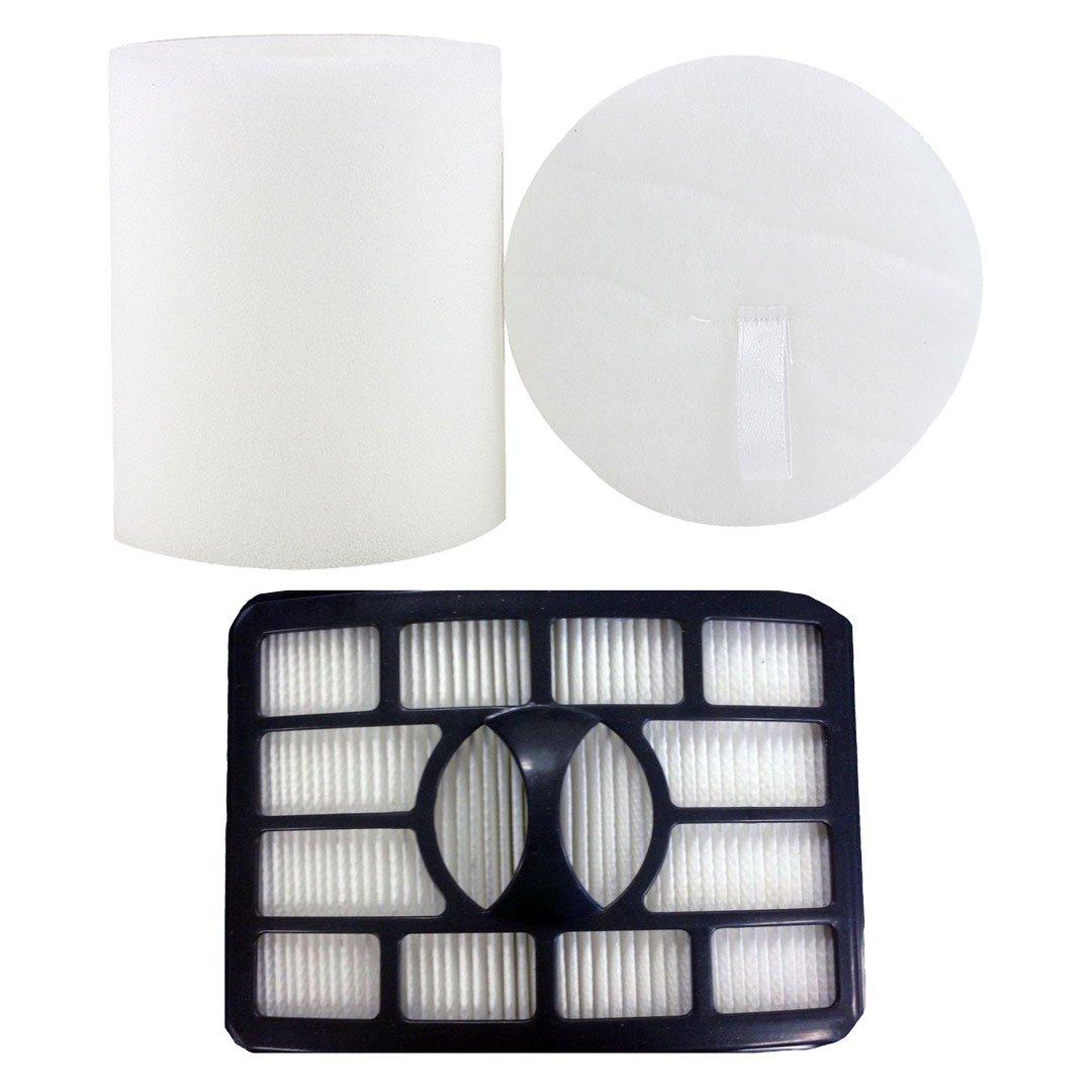 HEPA Filter /& Foam for Shark Rotator Professional Lift-Away NV500 XFF500 XHF500