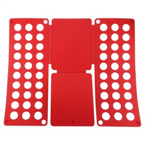 Felji Red Flip & Fold Adult Clothes Folder Shirt Folding Board