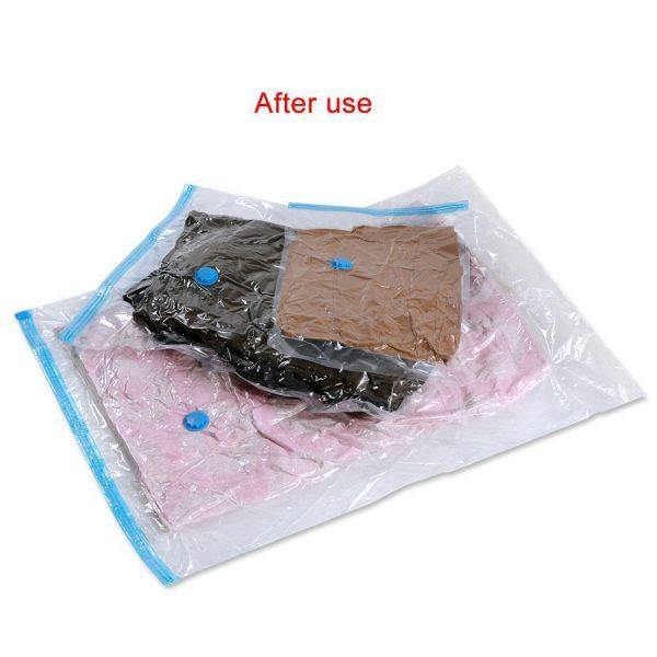 Felji Space Saver Bags Vacuum Seal Storage Bag Organizer Size Jumbo 39x47 inches 20 Pack + Free Pump
