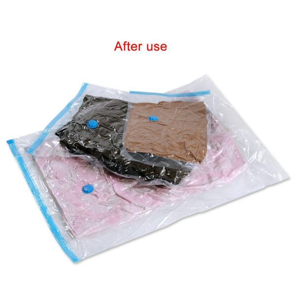Felji Space Saver Bags Vacuum Seal Storage Bag Organizer 12 Pack (4 Small, 4 Medium, 4 Large) + Free Pump