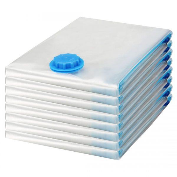 Felji Space Saver Bags Vacuum Seal Storage Bag Organizer 8 Pack (4 Medium, 4 Large)