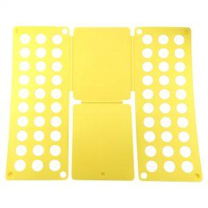 Felji Yellow Flip & Fold Adult Clothes Folder Shirt Folding Board