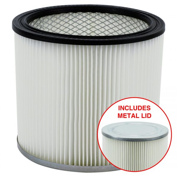4 Pack Shop-Vac 90304 9030400 Cartridge Filter Replacement Type U fits Wet & Dry Vacs