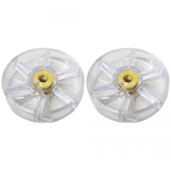 2 Pack Motor Gears Replacement Part Compatible with NutriBullet 600W 900W Blenders NB-101B NB-101S NB-201