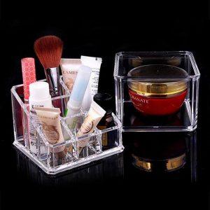 Felji Small Acrylic Lipstick & Jewelry Organizer 1035