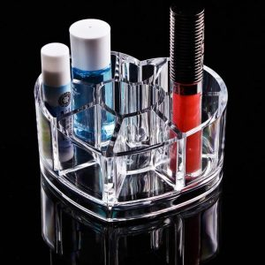 Felji Heart Shaped Acrylic Makeup Organizer 1057