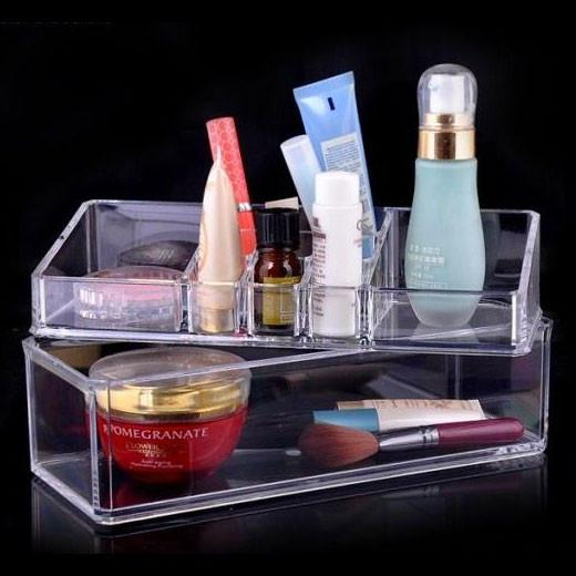Felji Large Acrylic Lipstick Makeup & Jewelry Organizer 1069