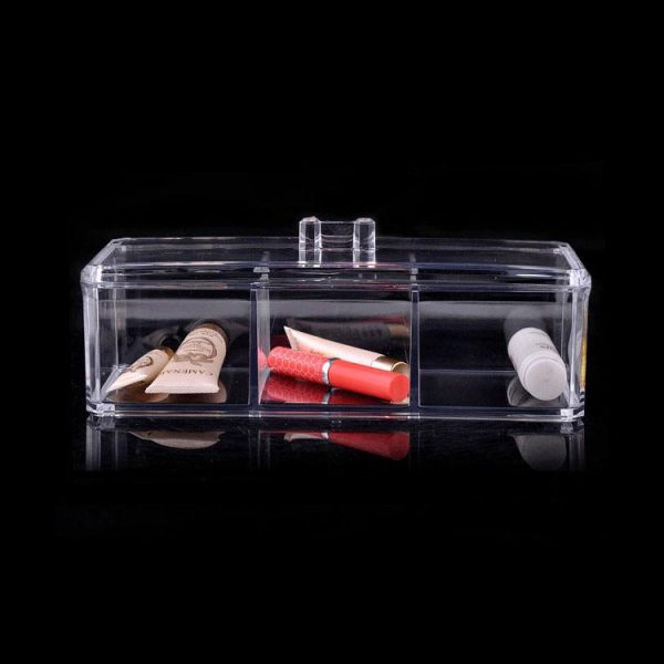 Felji Acrylic Jewelry & Makeup Organizer with 3 Compartments 1171-1