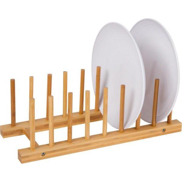 Felji Bamboo Plate Rack Pot Holder
