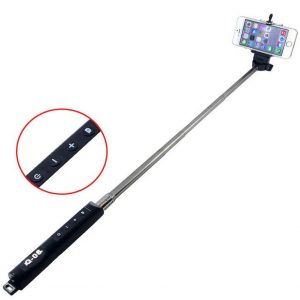Felji Bluetooth Extendable Handheld Selfie Stick Monopod With Zoom for Samsung iPhone