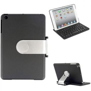 Felji Cover Case Swivel Rotary Stand Bluetooth Wireless Keyboard iPad Mini Black