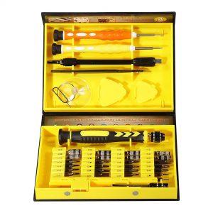 Felji 38 in 1 Precision Screwdriver Set Repair Mobile Tool Kit for iPad Samsung