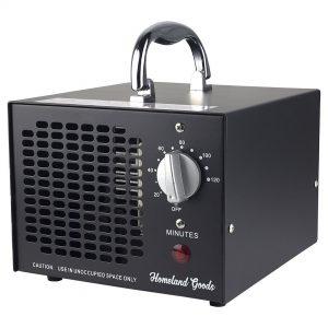 Homeland Goods Commercial Industrial Ozone Generator 3500mg Black