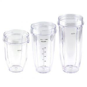 Nutri Ninja 18 24 32 oz Cups Replacement Combo 427KKU450 483KKU486 407KKU641