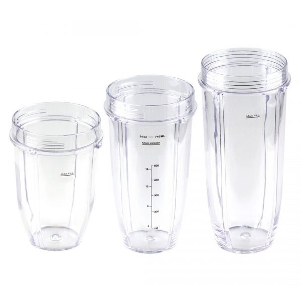 Nutri Ninja 18 24 32 oz Cups Replacement Combo 427KKU450 483KKU486 407KKU641