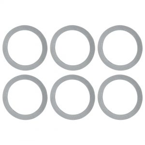 6 Pack Blender Gasket O Ring Rubber Seal Replacement for Oster Blenders