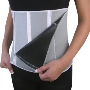 Felji Slimming Belt Men Womens Body Waist Shaper Girdle Adjustable