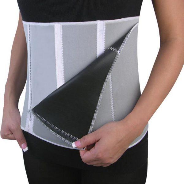 Felji Slimming Belt Men Womens Body Waist Shaper Girdle Adjustable