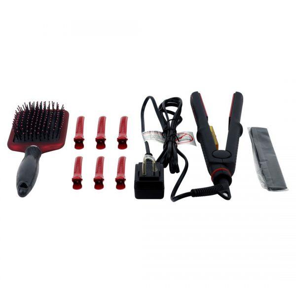 True Ceramic Pro Infrared Hair Straightener Ionic Styler