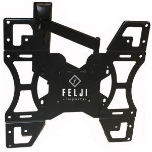 Felji TV Wall Mount Articulating Bracket LED LCD Swivel Tilt 32 37 39 40 46 48 50 55 Inch