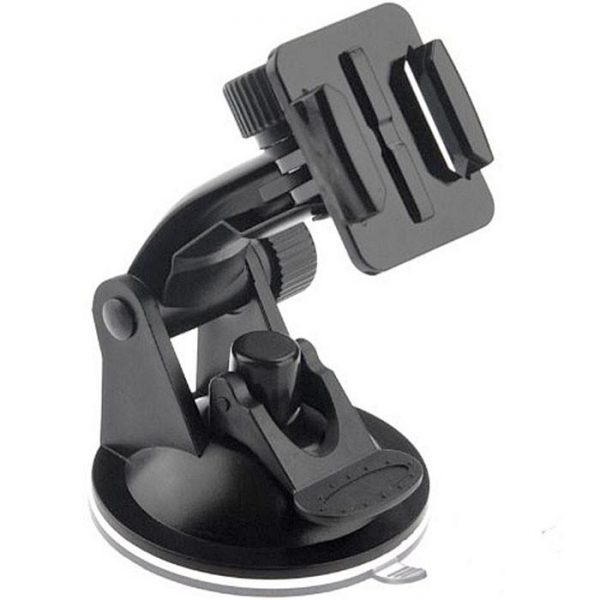 Felji Vacuum Suction Cup Camera Mount For GoPro Hero 3 2 1  7cm-diameter Base