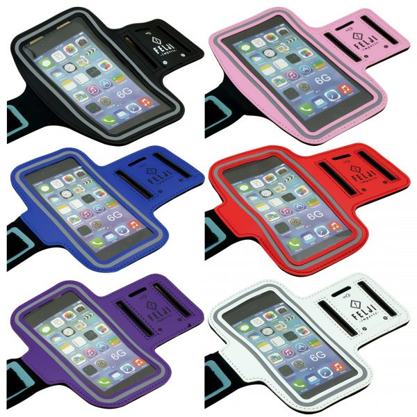 Small Sport Armband Case Bag for iPhone 6S 7 8 X Samsung Galaxy