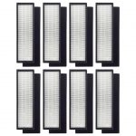 8 Pack True HEPA Filter Replacements Compatible with GermGuardian FLT4825 FLT-4850 AC4800 Series, Germ Guardian Filter B PET